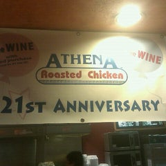 Photo taken at Athena Roasted Chicken by Frank W. on 11/24/2011
