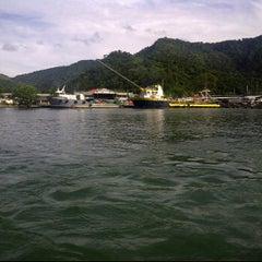 Photo taken at Mariners Haven- B H P Docks Chaguaramas by Ryan R. on 12/4/2011