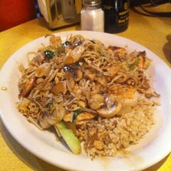 Photo taken at Mongolian Grill by Andrei F. on 10/21/2011