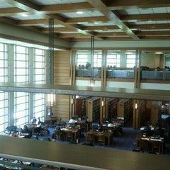 Photo taken at Biblioteca by Christian L. on 10/24/2011
