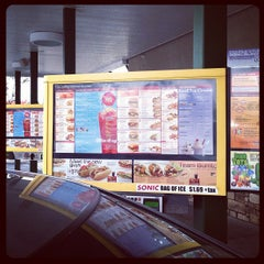 Photo taken at SONIC Drive In by Chuck F. on 10/19/2011