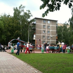 Photo taken at Детская площадка by Marguerite on 6/17/2012