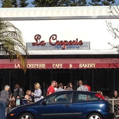 Photo taken at La Creperie Cafe by Ben Q. on 1/8/2012