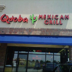Photo taken at Qdoba Mexican Grill by Heather R. on 7/12/2011