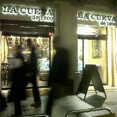 Photo taken at La Cueva de 1900 by Óscar M. on 12/27/2011