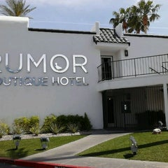 Photo taken at Addiction at Rumor Vegas Boutique Resort by Unique Styles on 4/30/2012