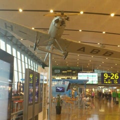 Photo taken at Terminal 2 by Mihhail S. on 7/15/2012