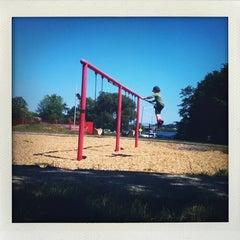 Photo taken at Payson Park by Anastasiav on 6/18/2011