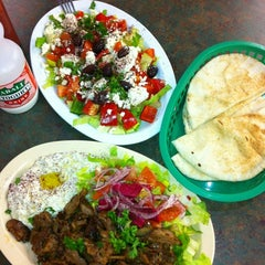 Photo taken at House of Falafel by Altan A. on 4/25/2012