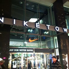 Photo taken at Niketown Berlin by luca p. on 12/4/2011