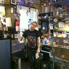 Photo taken at Bedlam Coffee by Brian P. on 12/28/2011
