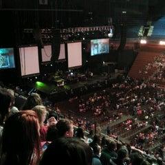 Photo taken at Mohegan Sun Arena by Lisa R. on 8/24/2012