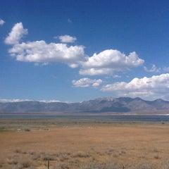 Photo taken at Crowley Lake by Shining H. on 8/20/2012