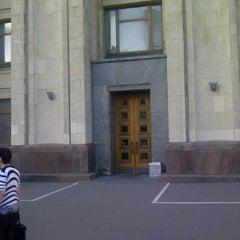 Photo taken at Высшие курсы иностранных языков МИД РФ by Andrew R. on 6/18/2012