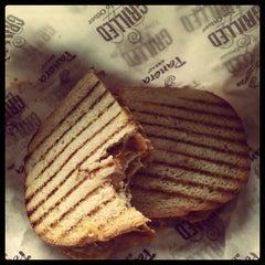 Photo taken at Saint Louis Bread Co. by LTL P. on 4/5/2012