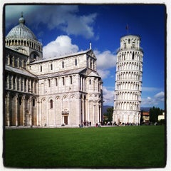 Photo taken at Piazza del Duomo (Piazza dei Miracoli) by Artem U. on 4/23/2012