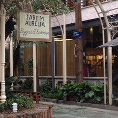 Photo taken at Jardim Aurélia Restaurante e Eventos by Aurélio de oLIVEira on 7/30/2012