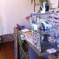 Photo taken at PataPata Hostel by Ben B. on 2/21/2012