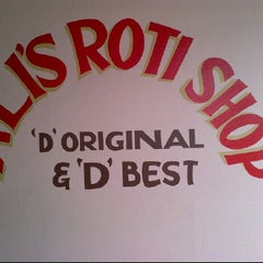 Photo taken at Ali's Roti Shop by Nyssa M. on 6/11/2012