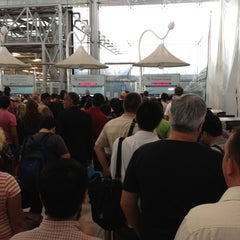 Photo taken at Thai Immigration: Passport Control - Zone 3 by Chanwith C. on 3/10/2012
