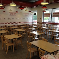 Photo taken at Five Guys by Robert D. on 7/15/2012