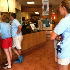 Photo taken at Panera Bread by Stephanie on 6/19/2012