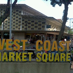 Photo taken at West Coast Market Square (Market & Food Centre) by Ghost on 3/25/2012