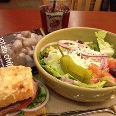 Photo taken at Panera Bread by Nicole C. on 2/20/2012