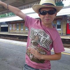 Photo taken at Faversham Railway Station (FAV) by Jenny R. on 7/26/2012