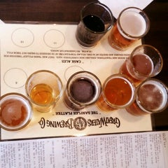 Photo taken at Great Waters Brewing Company by Jeremiah O. on 8/22/2012