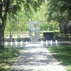 Photo taken at Nasher Sculpture Center by Alyssa H. on 7/22/2012