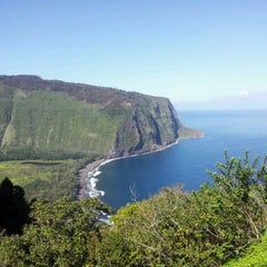 Photo taken at Waipiʻo Valley by Lauren C. on 3/10/2012