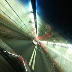 Photo taken at Holland Tunnel by Mac on 8/14/2012