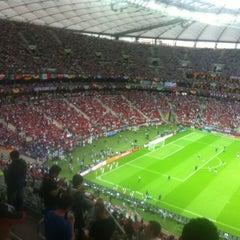 Photo taken at UEFA EURO 2012 Poland / Ukraine by Erland C. on 6/28/2012
