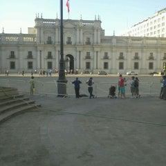 Photo taken at Plaza de la Constitución by Jack D. on 2/14/2012