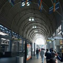 Photo taken at MBTA Ruggles Station by Tom N. on 4/17/2012