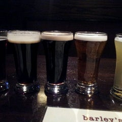 Photo taken at Barley's Brewhaus by Olin G. on 2/11/2012