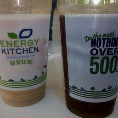 Photo taken at Energy Kitchen by Cecille H. on 9/1/2012