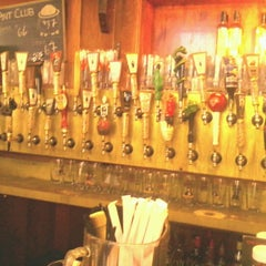 Photo taken at Rogue Ales Public House & Distillery by Sarah G. on 7/7/2012