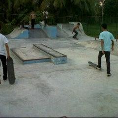 Photo taken at AB Skatepark by Fajar K. on 10/19/2011