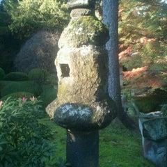 Photo taken at Tatton Park Japanese Garden by Angus W. on 11/6/2011