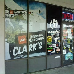 Photo taken at Clark's Snowsports by Isaiah S. on 11/25/2011