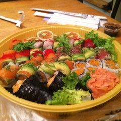 Photo taken at Azuma Sushi by Nikolette B. on 8/15/2011