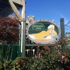 Photo taken at Logan Inn by komala t. on 11/4/2011