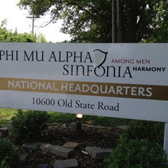 Photo taken at Phi Mu Alpha Sinfonia NHQ by Bob R. on 5/27/2012
