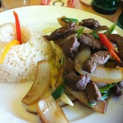 Photo taken at Restaurant De los Reyes by Daniela C. on 3/2/2012