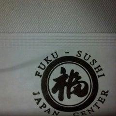 Photo taken at Fuku Sushi by Stephanie S. on 8/12/2012