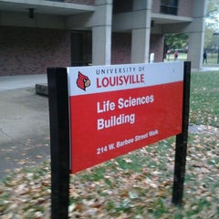 Photo taken at Life Sciences Building by tata h. on 10/20/2011