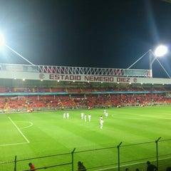 Photo taken at Estadio Nemesio Diez by Moy S. on 7/25/2012