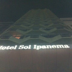 Photo taken at Best Western Plus Sol Ipanema Hotel by André M. on 9/1/2012